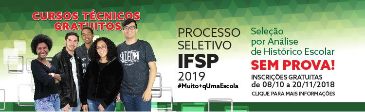 Processo Seletivo - 2019